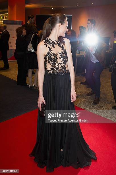 Lavinia Wilson attends the opening party during the 65th Berlinale International Film Festival at Berlinale Palace on February 5 2015 in Berlin...