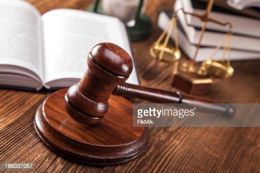 Law concept : Stock Photo