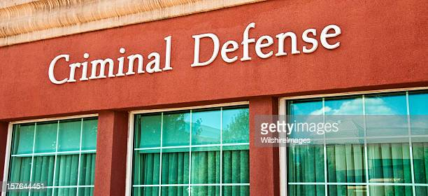 Law Firm Criminal Defense Attorney Sign