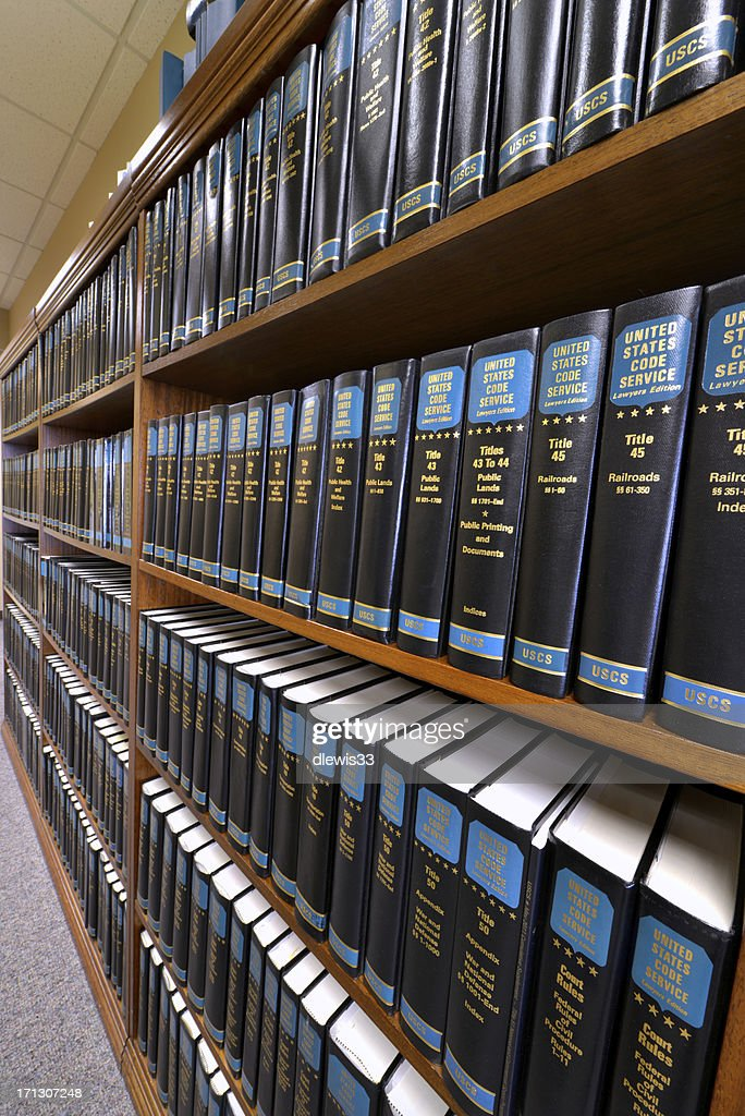 Law Library : Stock Photo