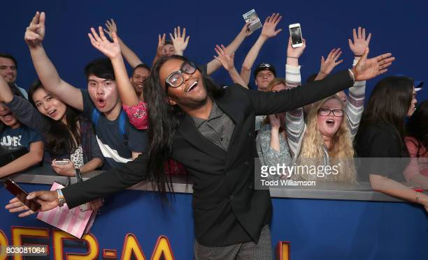 Law Roach attends the premiere of Columbia Pictures' 'SpiderMan Homecoming' at TCL Chinese Theatre on June 28 2017 in Hollywood California