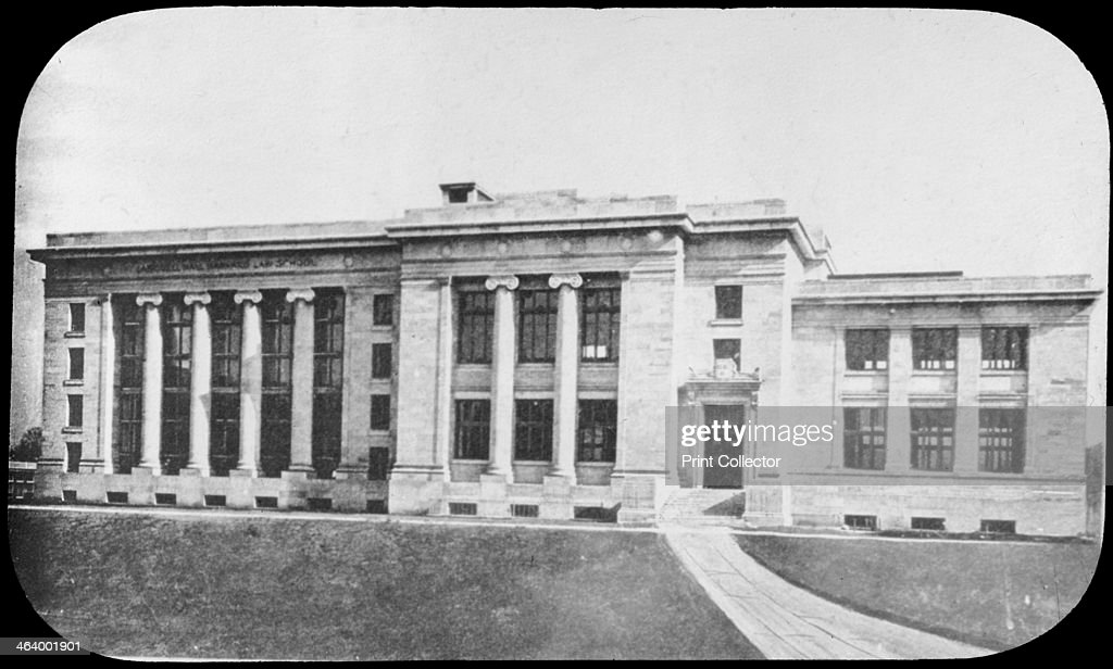 Law School Harvard University Cambridge Massachusetts USA - Largest university in usa