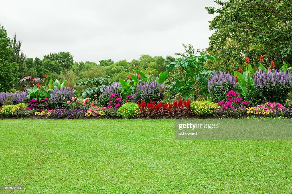 Lawn and Formal Garden