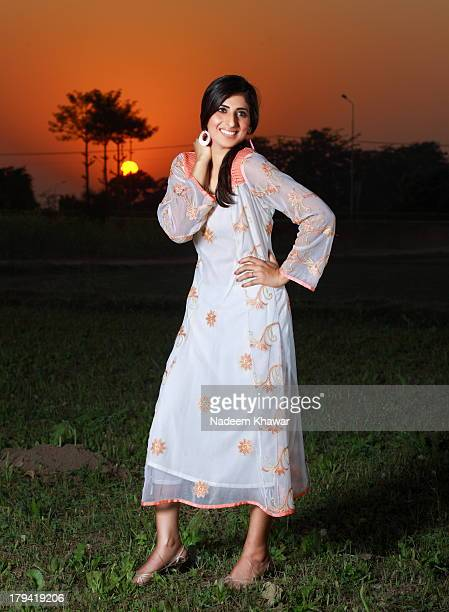 Lawn dresses's shoot at out door.