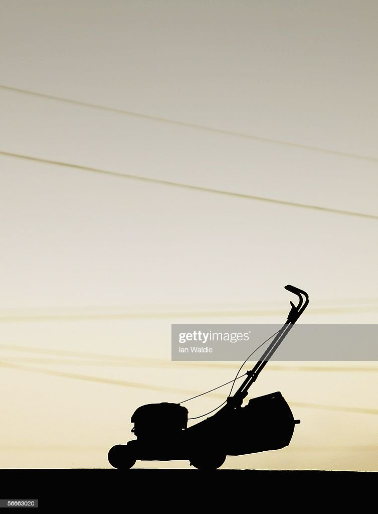 A lawn mower is pictured January 24 2006 in Sydney Australia The rotary mower became a necessity and has since become a cultural icon in Australia as...