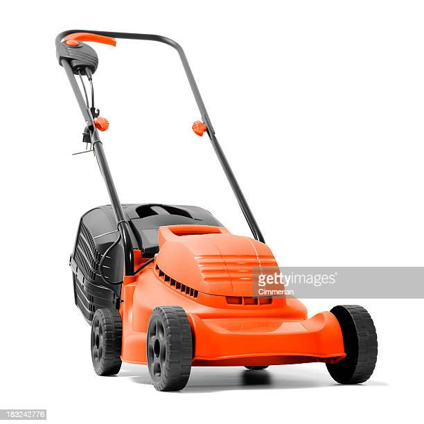 Lawn Mower on white