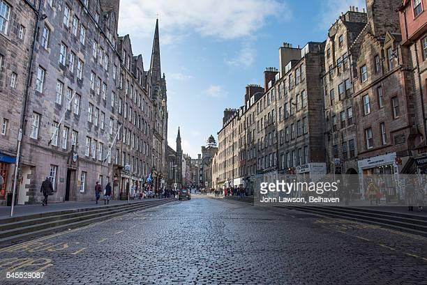 Lawnmarket (part of The Royal Mile), Edinburgh