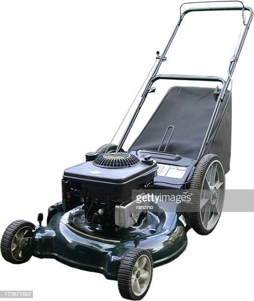 Lawnmower mit Gras Catcher