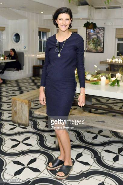 Lawren Howell attends Jenni Kayne Home Collection Launch at Malibu Farm on October 11 2017 in Malibu California