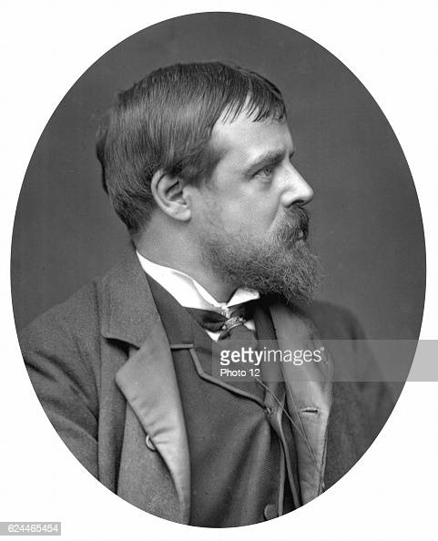 Lawrence AlmaTadema Dutchborn British painter of idyllic classical scenes Photograph published 1881 Woodburytype