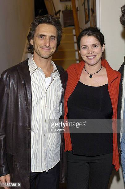 Lawrence Bender Producer and Julia Ormond during Rock the Vote 2004 Campaign Reception Hosted by Ciroc Vodka at Private Residence in Los Angeles...