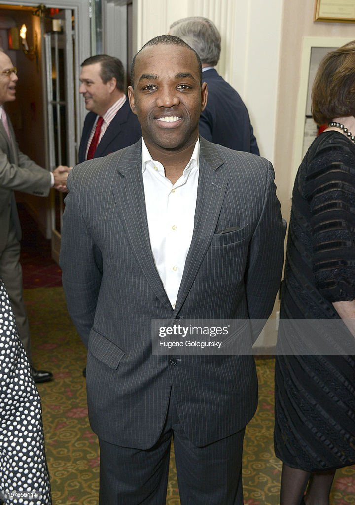 Lawrence Brownlee attends the Metropolitan Opera Guild's 78th Annual Luncheon Celebrating 'Star Power!' at The Waldorf Astoria on December 4, 2012 in New York City.