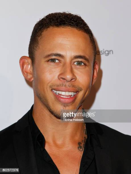 Lawrence Carroll attends Kyle Chan's 3rd annual #LOVECAMPAIGN Party at SUR Lounge on June 27 2017 in Los Angeles California