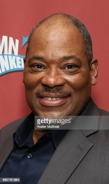 Lawrence Clayton attend the cast party for the Roundabout Theatre Company presents a OneNight Benefit Concert Reading of 'Damn Yankees' at the...