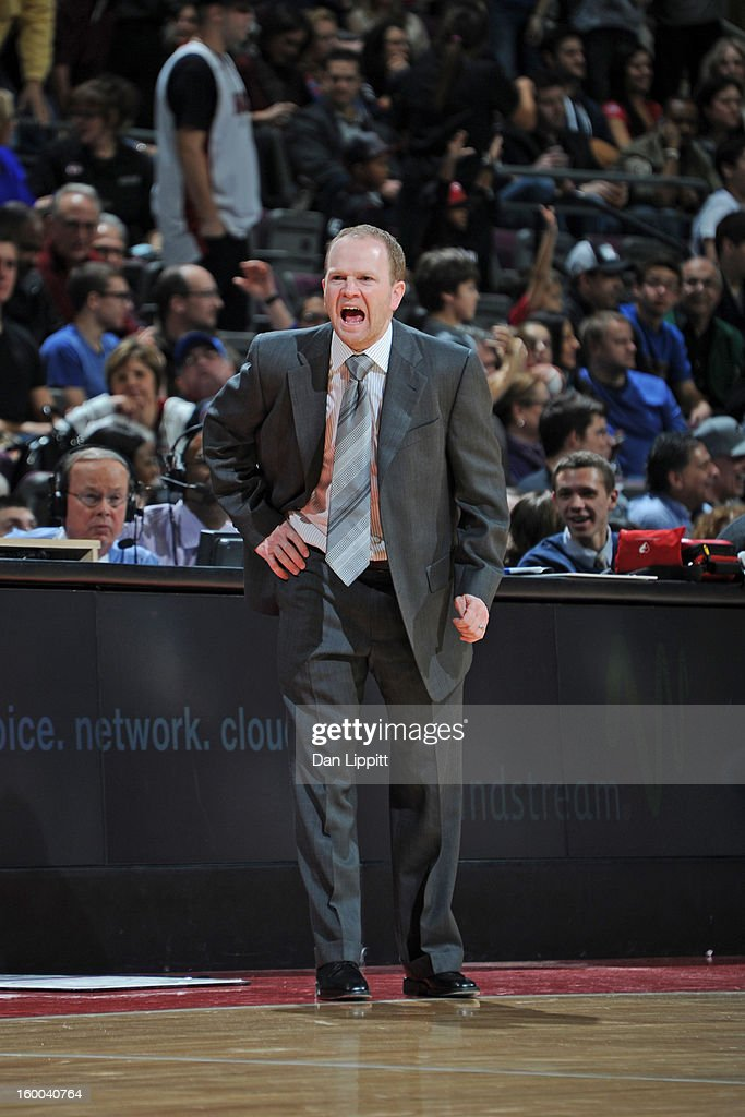 <a gi-track='captionPersonalityLinkClicked' href=/galleries/search?phrase=Lawrence+Frank&family=editorial&specificpeople=208918 ng-click='$event.stopPropagation()'>Lawrence Frank</a> of the Detroit Pistons calls plays from the sideline in the game against the Miami Heat on December 28, 2012 at The Palace of Auburn Hills in Auburn Hills, Michigan.
