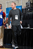 Lawrence Frank of the Los Angeles Clippers attends a game between the Indiana Pacers and Detroit Pistons on July 8 2015 at Amway Center in Orlando...