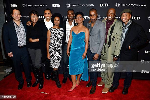 Lawrence Hill Vicky Free Damon D'Oliveeira Charlie Jordan Brookins Lyriq Bent Aunjanue Ellis Clement Virgo Louis Gossett Jr and Cuba Gooding Jr...