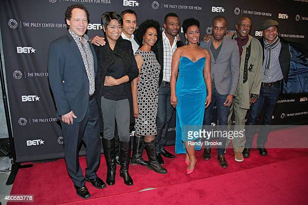 Lawrence Hill Vicky Free Damon D'Oliveira Charlie Jordan Brookins Lyriq Bent Aunjanue Ellis Clement Virgo Louis Gossett Jr and Cuba Gooding Jr attend...