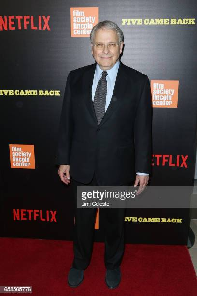 Lawrence Kasdan attends the world premiere of 'Five Came Back' at Alice Tully Hall Lincoln Center on March 27 2017 in New York City