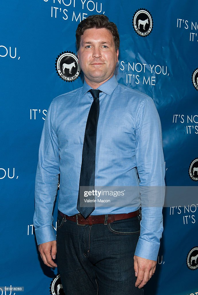 Lawrence Long arrives at the premiere of 'It's Not You, It's Me' at Downtown Independent Theatre on September 18, 2013 in Los Angeles, California.