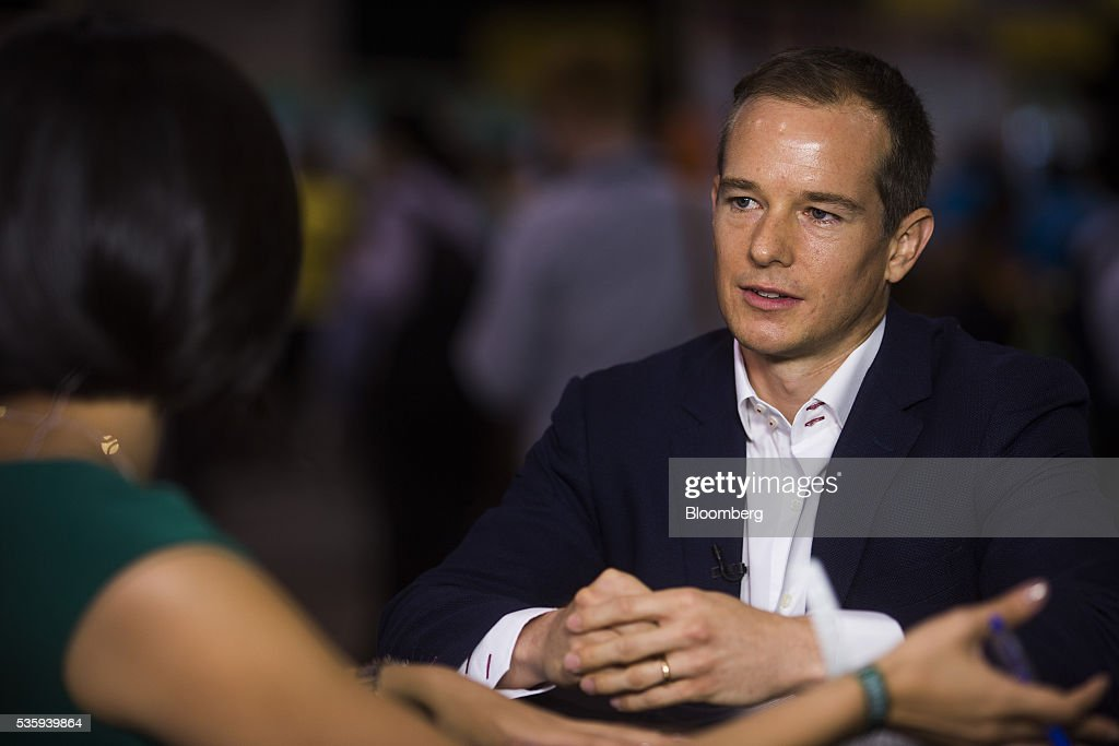 Lawrence Morgan, chief executive officer of Nest Hong Kong Ltd., listens during a Bloomberg Television interview at the Rise conference in Hong Kong, China, on Tuesday, May 31, 2016. The conference runs through June 2. Photographer: Justin Chin/Bloomberg via Getty Images