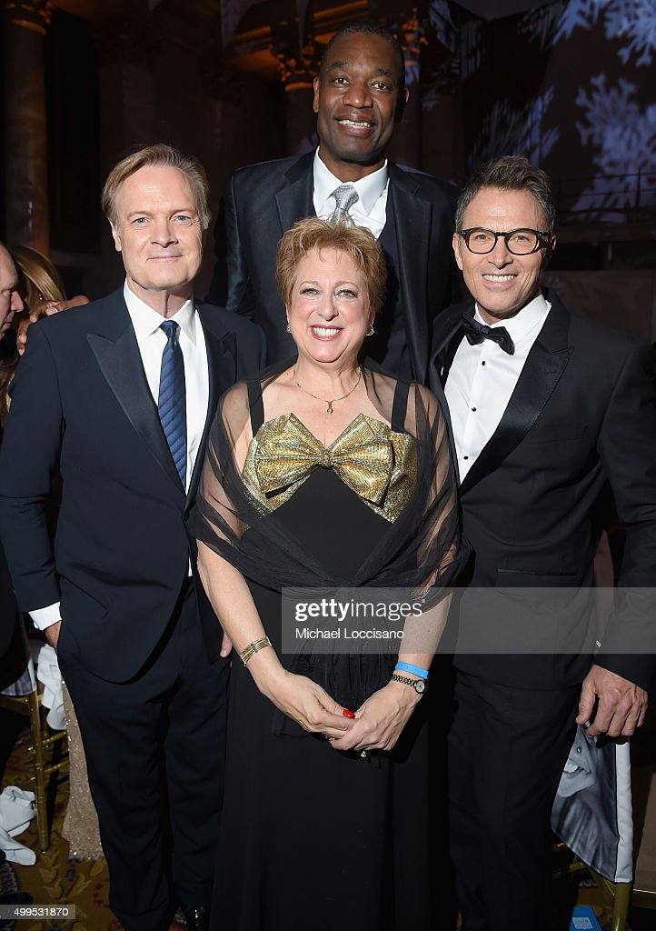 Lawrence O'Donnell President and CEO US Fund for UNICEF Caryl Stern Dikembe Mutombo and Tim Daly attend 11th Annual UNICEF Snowflake Ball Honoring...