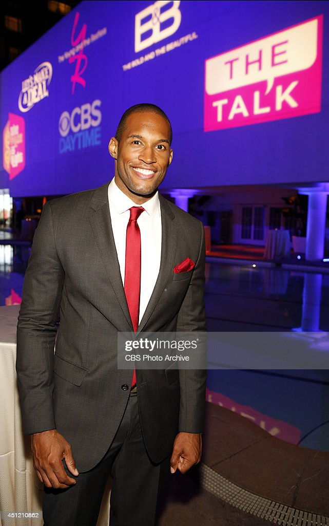 Lawrence Saint-Victor of CBS Daytime's The Bold and the Beautiful attends The 41st Annual Daytime Emmy® Awards in Los Angeles on Sunday, June 22.