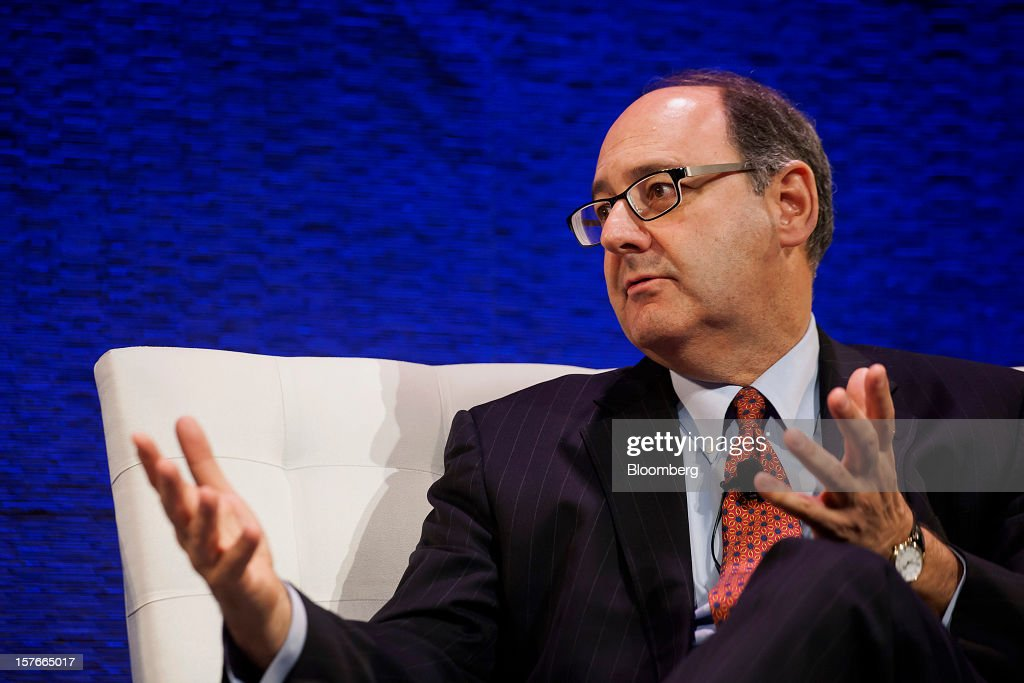 Lawrence Schloss, deputy comptroller for pensions and chief investment officer for the City of New York, speaks during the Bloomberg Hedge Funds Summit in New York, U.S., on Wednesday, December 5, 2012. The Bloomberg Hedge Funds Summit convenes managers and investors to discuss the impact of the European debt crisis on the global markets and break down the fundamentals driving volatility in the equity markets. Photographer: Michael Nagle/Bloomberg via Getty Images