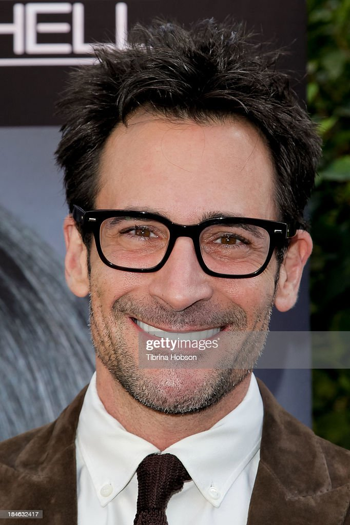 Lawrence Zarian attends the Greg Lavoi spring 2014 runway presentation at Kyoto Gardens on October 13, 2013 in Los Angeles, California.