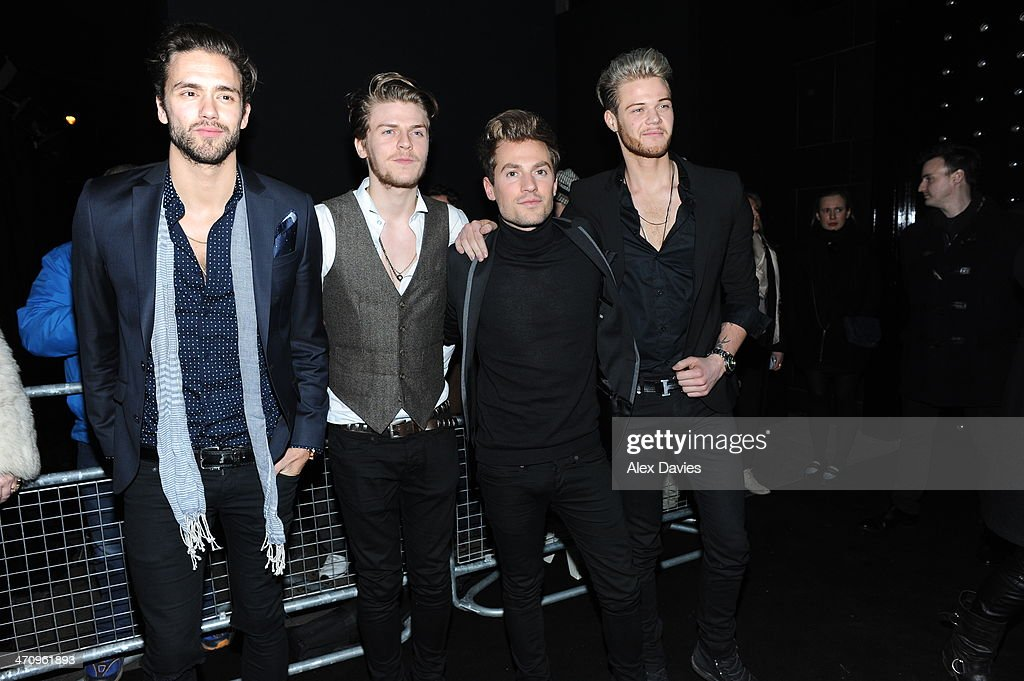 Lawson arrive at the Brits Afterparty on February 19, 2014 in London, England.