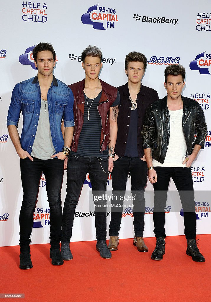 Lawson attend the Capital FM Jingle Bell Ball at 02 Arena on December 8, 2012 in London, England.
