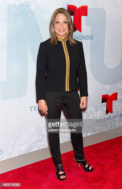 Lawyer Ana Maria Polo attends the 2014 Telemundo Upfront at Frederick P Rose Hall Jazz at Lincoln Center on May 13 2014 in New York City