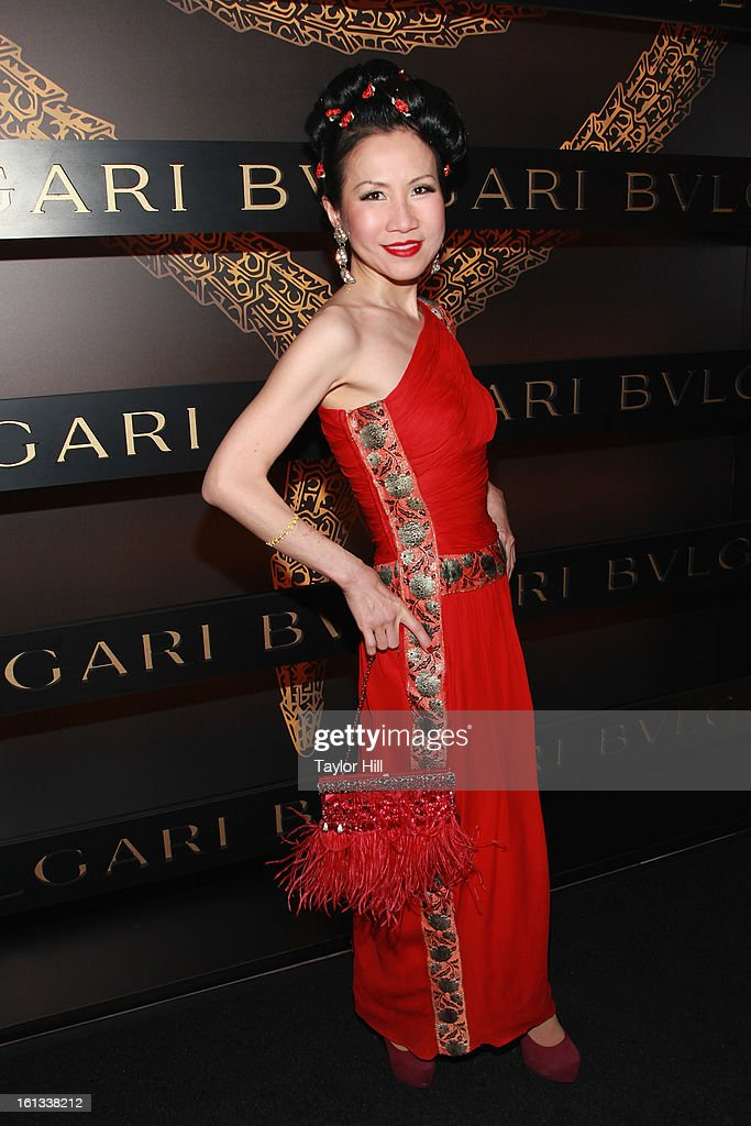 Lawyer Chiu Ti Jansen attends Bulgari Celebrates Icons Of Style: The Serpenti during Fall 2013 Fashion Week at Bulgari Fifth Avenue on February 9, 2013 in New York City.