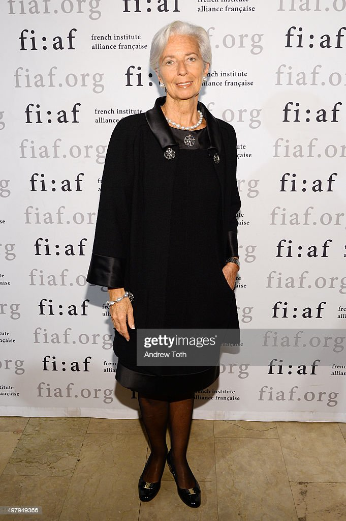 Lawyer Christine Lagarde attends the 2015 Trophee Des Arts gala at The Plaza Hotel on November 19, 2015 in New York City.