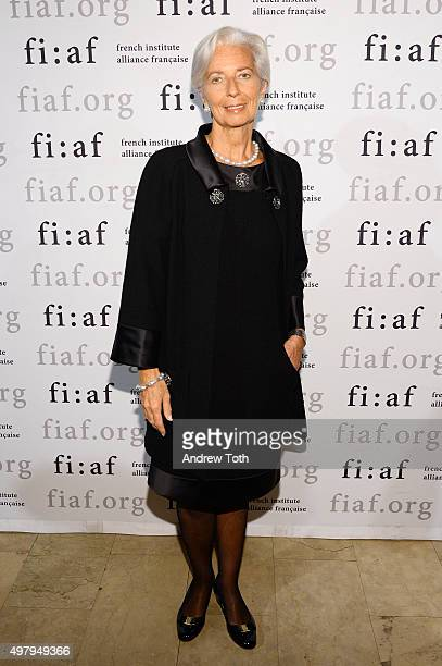 Lawyer Christine Lagarde attends the 2015 Trophee Des Arts gala at The Plaza Hotel on November 19 2015 in New York City