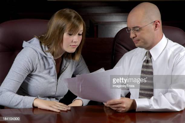 Lawyer & Client
