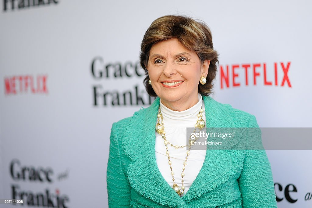 Lawyer <a gi-track='captionPersonalityLinkClicked' href=/galleries/search?phrase=Gloria+Allred&family=editorial&specificpeople=213999 ng-click='$event.stopPropagation()'>Gloria Allred</a> attends Netflix Original Series 'Grace & Frankie' season 2 premiere at Harmony Gold on May 1, 2016 in Los Angeles, California.