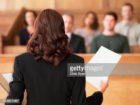 弁護士を話すに文書化、審査員の法廷