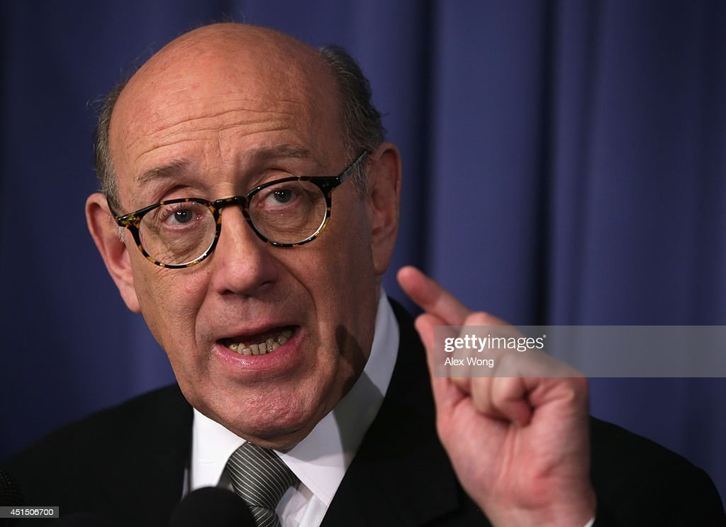 Lawyer <a gi-track='captionPersonalityLinkClicked' href=/galleries/search?phrase=Kenneth+Feinberg&family=editorial&specificpeople=1061876 ng-click='$event.stopPropagation()'>Kenneth Feinberg</a> speaks during a news conference June 30, 2014 at the National Press Club in Washington, DC. Kenneth laid out the details of the compensation program he is administrating for General Motors to pay victims and their families that were affected by defective ignition switches installed in 2.6 million GM vehicles.