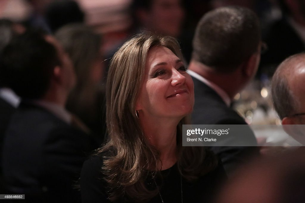 Lawyer Silda Wall Spitzer attends the 10th Annual Children's Rights Gala held at The Lighthouse at Chelsea Piers on October 20 2015 in New York City