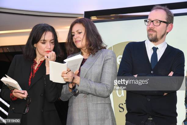 Lawyer Sophie Obadia Stanislas Rigot and Singer/actress Viktor Lazlo attend the 'Le Prix Du Style 2017' Literary awards Hosted by BMW Obadia Stasi...