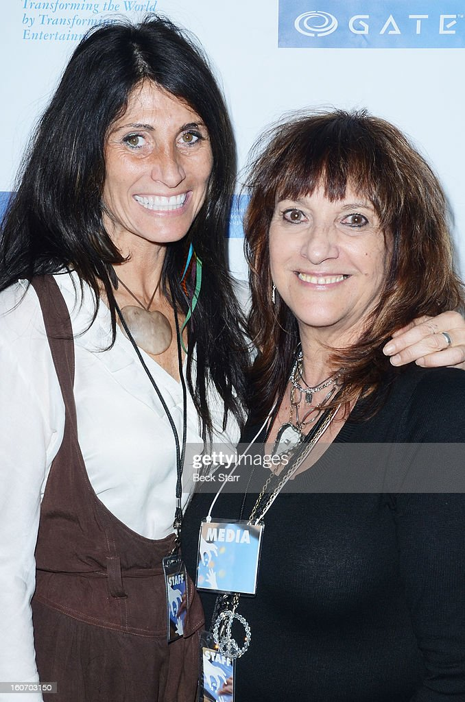 Lawyer Susan Daya Hamwi and LA publicist Dawna Shuman attend the 'GATE', Global Alliance For Transformational Entertainment's 3rd annual green carpet event at Saban Theatre on February 2, 2013 in Beverly Hills, California.