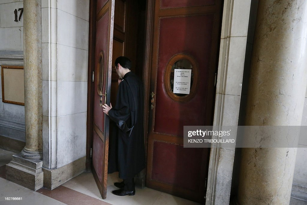 A lawyerDisgraced former IMF chief Dominique Strauss-Kahn leaves Paris courthouse after attending a hearing regarding his seizure request of the new book by Argentinian-born Marcela Iacub detailing their liaison, on February 26, 2013. Strauss-Kahn, who has called the book an 'abomination', is seeking 100,000 euros ($132,300) in damages and compensation from Iacub and her publisher Stock, and a similar amount from Le Nouvel Observateur, a magazine that published excerpts of the book.