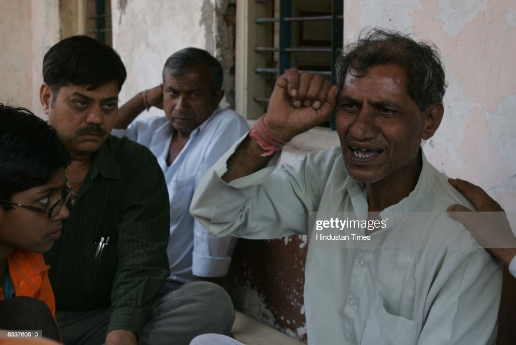 Laxman Chaudhary blames the city police for the communal strife that has plagues Chopda. Laxman's youngest son Sanjay died after being shot in the head by the city police who were trying to disperse the rioting mob.