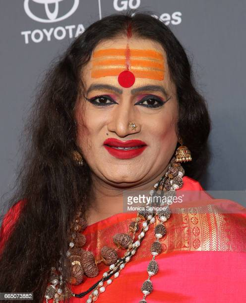 Laxmi Narayan Tripathi attends the 8th Annual Women In The World Summit at Lincoln Center for the Performing Arts on April 5 2017 in New York City