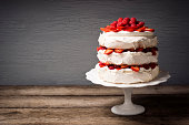 'Pavlova is a cake-like dessert, popular in New Zealand and Australia, and made up of layers of meringue, whipped cream and fresh fruit.'