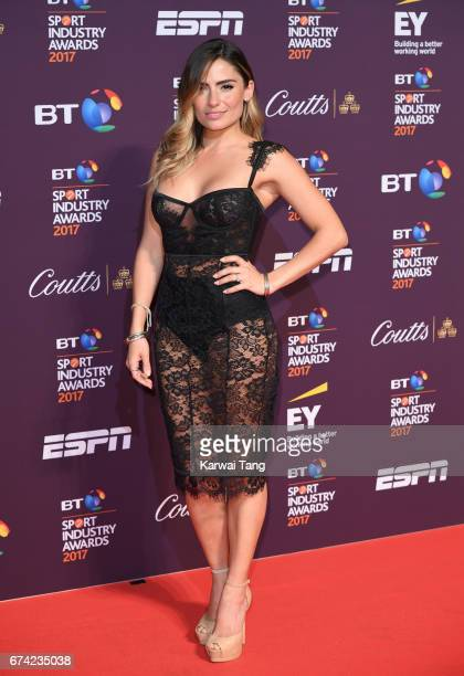 Layla AnnaLee attends the BT Sport Industry Awards at Battersea Evolution on April 27 2017 in London England