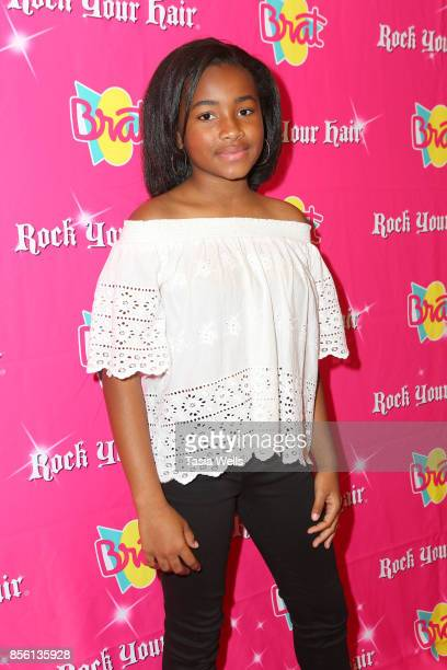Layla Crawford at Rock Your Hair Presents Rock Back to School Concert Party on September 30 2017 in Los Angeles California