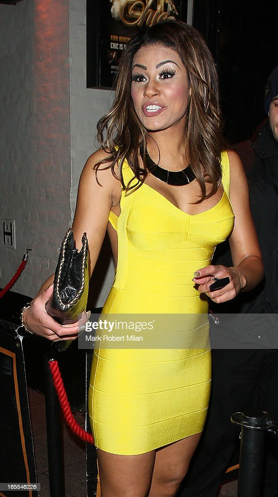 Layla Flaherty at the Sugar Hut Brentwood on April 4, 2013 in London, England.