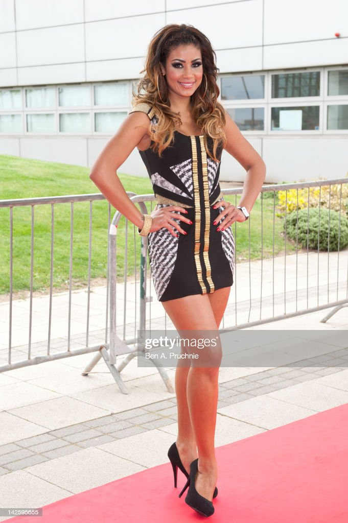 Layla Flaherty attends Essex Fashion Week - Autumn/Winter 2012 at Ceme on April 8, 2012 in Rainham, Greater London.